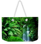 Rain Forest And Waterfall Weekender Tote Bag
