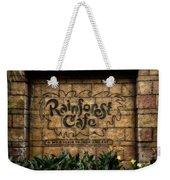 Rain Forest Cafe Signage Downtown Disneyland 01 Weekender Tote Bag