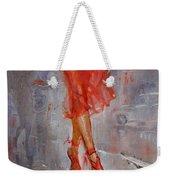 Rain In Manhattan Weekender Tote Bag