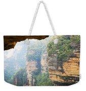 Rain In Mountains Weekender Tote Bag