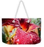 Rain Kissed Lilly Profile 2 Weekender Tote Bag