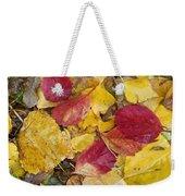 Rain Leaves Weekender Tote Bag