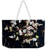Rain Of Petals Weekender Tote Bag