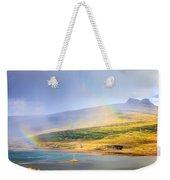 Rain Over Fjords Weekender Tote Bag