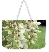 Rain-spangled Locust Flowers Weekender Tote Bag
