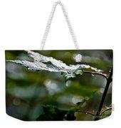 Rain Sparkles Weekender Tote Bag