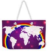 Rainbow's World 20 Weekender Tote Bag