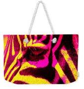 Rainbow Animals - Zebra  Weekender Tote Bag