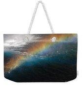 Rainbow At Waterfall Base Weekender Tote Bag