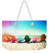 Rainbow Beach Photography Light Leaks2 Weekender Tote Bag