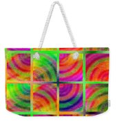 Rainbow Bliss 3 - Over The Rainbow V Weekender Tote Bag