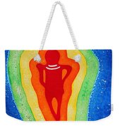 Rainbow Body Original Painting Weekender Tote Bag