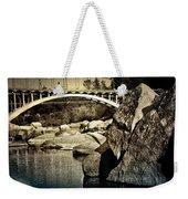 Rainbow Bridge In Folsom Ca Weekender Tote Bag