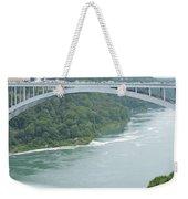 Rainbow Bridge Over Niagara Weekender Tote Bag