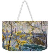 Rainbow Bridge Weekender Tote Bag