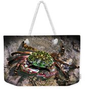Rainbow Crab Weekender Tote Bag