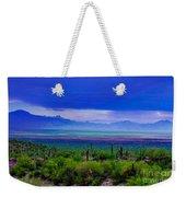 Rainbow Desert Landscape Weekender Tote Bag