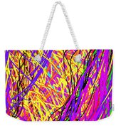 Rainbow Divine Fire Light Weekender Tote Bag by Daina White