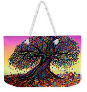 Rainbow Dreams And Falling Leaves Weekender Tote Bag