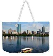 Rainbow Duck Boat On The Charles Weekender Tote Bag