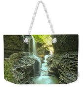 Rainbow Falls Bridge Weekender Tote Bag
