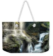 Rainbow Falls Square Weekender Tote Bag