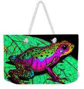 Rainbow Frog 3 Weekender Tote Bag