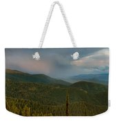 Rainbow From The Lolo Trail Weekender Tote Bag