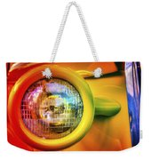 Rainbow Headlight Weekender Tote Bag
