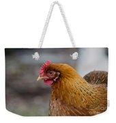 Rainbow Hen Weekender Tote Bag