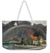 Rainbow In The Mountains Weekender Tote Bag