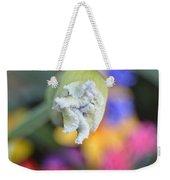 Rainbow Iris Weekender Tote Bag
