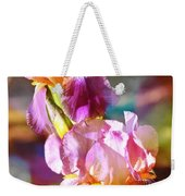 Rainbow Irises Weekender Tote Bag