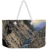 Rainbow On The Lower Falls Weekender Tote Bag
