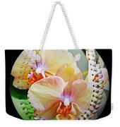 Rainbow Orchids Baseball Square Weekender Tote Bag