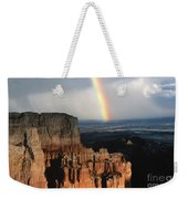 Rainbow Over  Bryce Canyon Weekender Tote Bag