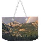 Rainbow Over Colin Range Jasper Np Weekender Tote Bag