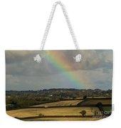 Rainbow Over Fields Weekender Tote Bag