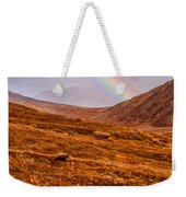 Rainbow Over Grizzly In Denali Weekender Tote Bag