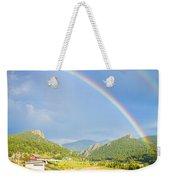 Rainbow Over Rollinsville Weekender Tote Bag