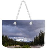 Rainbow Over The Mountains Weekender Tote Bag