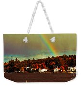 Rainbow Over Winnipesaukee Two Weekender Tote Bag