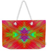 Rainbow Passion Abstract 1 Weekender Tote Bag