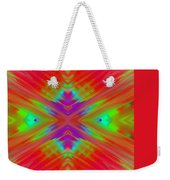 Rainbow Passion Abstract 2 Weekender Tote Bag