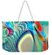 Rainbow Play Weekender Tote Bag by Anastasiya Malakhova