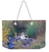 Rainbow Pond Weekender Tote Bag