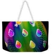 Rainbow Showers Baseball Square Weekender Tote Bag