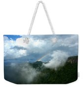 Rainbow Shrouded In Mist Weekender Tote Bag
