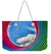Rainbow Sky Weekender Tote Bag