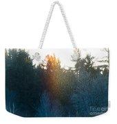 Rainbow Sparkles Weekender Tote Bag